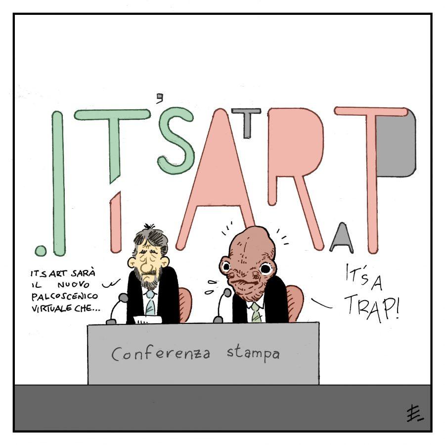 """It'sArt?""   by Enrico ledda"
