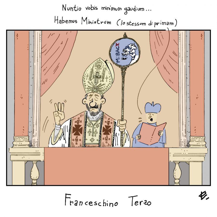 """""""Il nuovo ministro""""   by Enrico Ledda"""