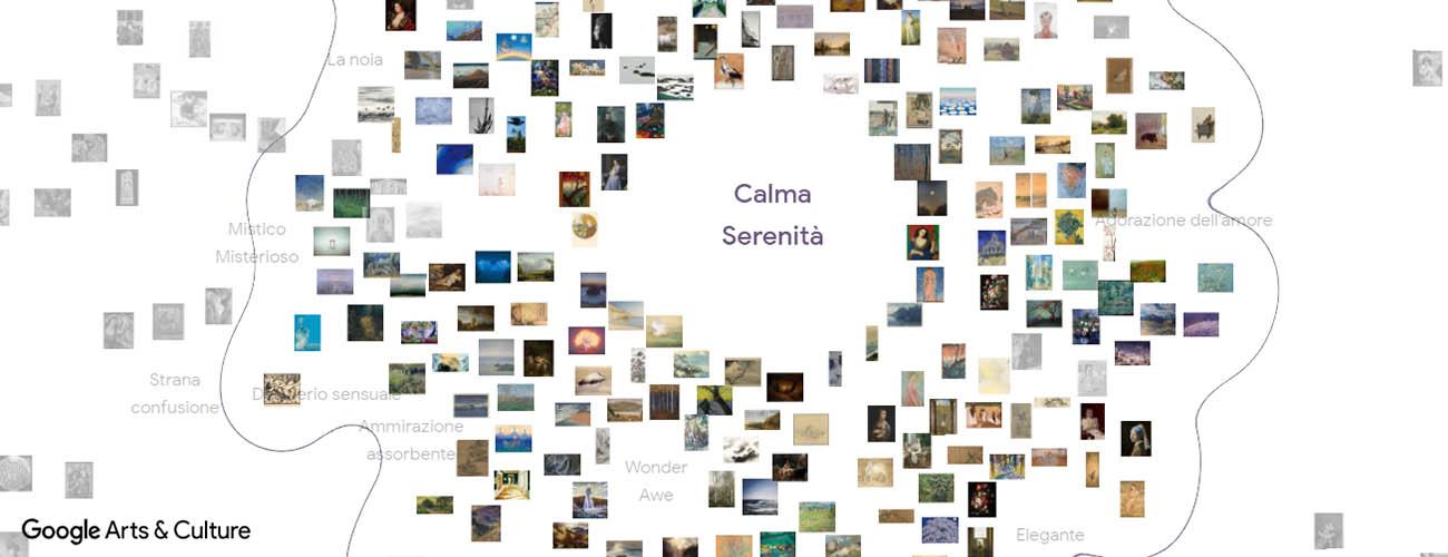 art emotions map