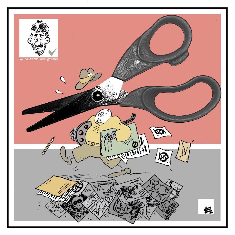 """""""Bisognava darci un taglio""""   by Enrico Ledda"""