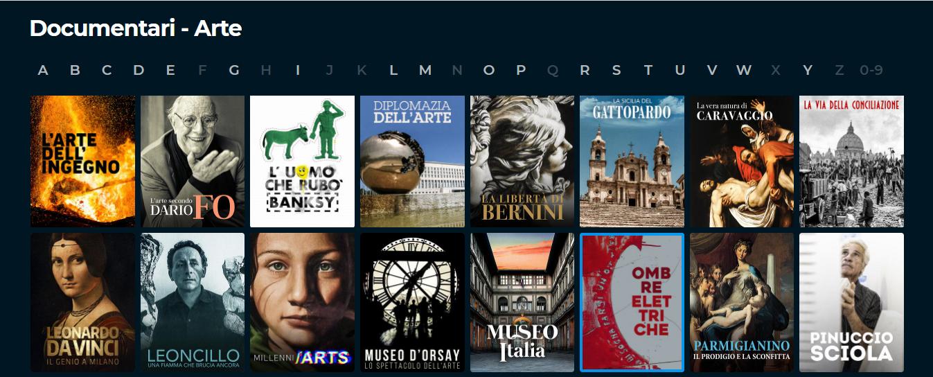 documentari arte e cultura