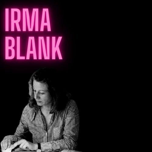 irma blank